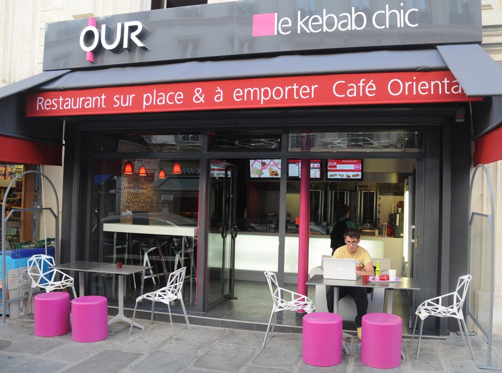 OUR – Le kebab chic de Paris