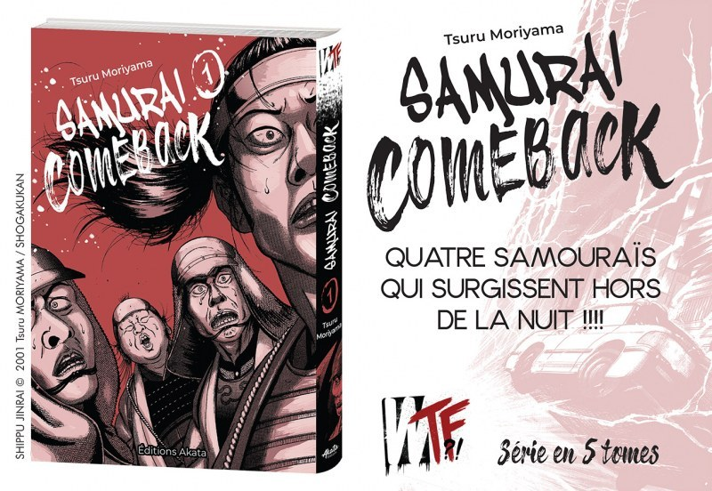 Samurai Comeback T.1 (Akata)