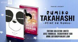 Rumiko Takahashi Reine du Manga chez Pix'n Love