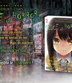 Nouvelle Licence Ototo: Mieruko-chan : Slice of Horror