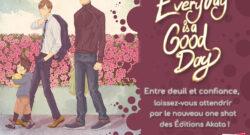 Deux nouvelles Licences Akata: Everyday is a good day & J'en croque pour toi
