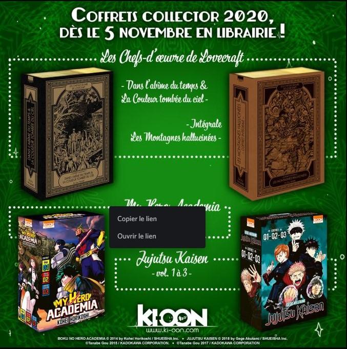201020 Coffret Collector Kioon