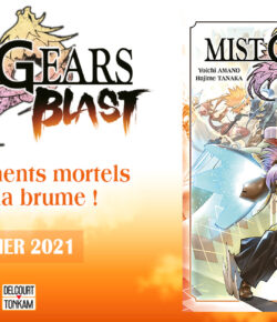 Nouvelle Licence Delcourt | Tonkam: Mist Gears Blast